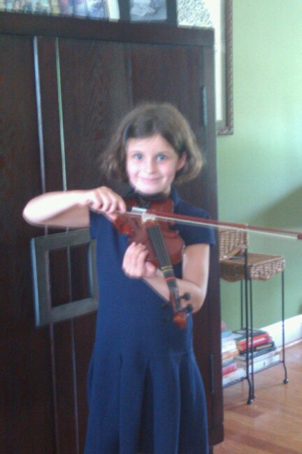 Zoe violin Fall 2010
